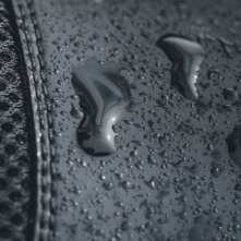 the water resistant material of the kujo shoe